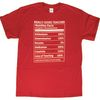My Best Self Nutrition Fact T-Shirt - Small
