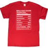 My Best Self Nutrition Fact T-Shirt - XX Large