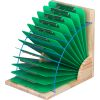 Clipboard Stand With 12 Single-Color Clipboards - 1 stand, 12 clipboards