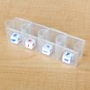 Dice Shakers – Set Of 4 - Clear