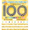 We Are 100 Days Brighter Poster And Number Line Kit