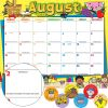 Monthly Calendar Pages And Stickers 2020-2021 Primary