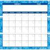 Programmable Monthly Calendar Jumbo Poster - 1 jumbo poster