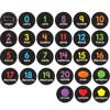 EZ Stick Spanish Numbers Shapes And Colors Decals