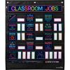 Classroom Jobs Pocket Chart and Cards  Neon - 1 pocket chart, 73 cards