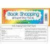 Book Shopping Pocket Chart & Cards - Black