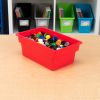 Small All Purpose Bin Single   Red