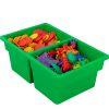 Small Two-Compartment All-Purpose Bin  Single - 1 plastic bin