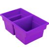 Small Two-Compartment All-Purpose Bin  Single - 1 plastic bin