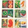 Excellerations Fruit and Vegetable Photo Puzzles Set of 12