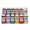 Colorations Extra Safe Plastic Glitter, 1 lb Set of All 12