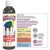 Colorations Liquid Watercolor Paint, Rainbow Pack, 4 oz Set of 6