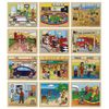 Excellerations In My Community Puzzles Set of 12