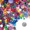 Colorations Assorted Bead Bucket 2 5lb approx 3500 Beads