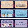 Social Distancing and Personal Space Conversation Cards - 18 cards