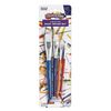 Paint Brushes Colorations Flat Set of 4 Assorted sizes Ideal for Most Paint Mediums