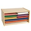 Colorations Wooden Organizer for Paper Storage