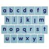 Excellerations Tactile Lower Case Alphabet Letters