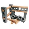Excellerations Foam Floor Blocks and Planks 44 pieces