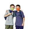 Crayola Kids Reusable Cloth Face Mask Set of 5 with Mesh Laundry Bag Cool Colors