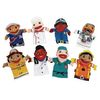 Excellerations Big Mouth Career Puppets Set of 8