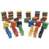 Excellerations Colorful Wooden Dominoes   168 Pieces