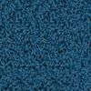 KIDply Soft Denim Blue 4' x 6' Rectangle Solid Carpet - 1 carpet