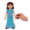 Magnetic Multicultural Dressing Dolls - 8 dolls