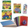 School Age Art Kit, 7 Art Supplies Collection - 1 multi-item kit