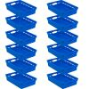 Paper Basket Organizer   Set of 12   Blue
