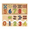 Number Puzzle Blocks