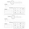 Spanish My Numbers Through 120 Journal (Mi Cuaderno de Numeros Hasta el 120) - Set of 12