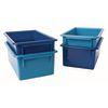 MyPerfectClassroom® Easy Label Bins 2-Tone Blue, Set of 4