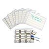 Reversible Dry-Erase Boards with Erasers - Set of 10