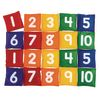 Excellerations® 1-10 Number Beanbags - Set of 20
