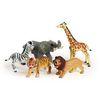 Jumbo Soft Jungle Animals - Set of 5
