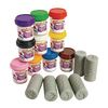 Ocean Life Stamper Rollers and 10 Colors of Play Dough