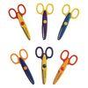 Crazy Cut Craft Scissors - Set of 12