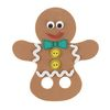 Colorations[r] Gingerbread Finger Puppet - Kit for 12