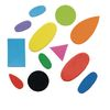 Colorations[r] Self-Adhesive Foam Shapes - Set of 1,000