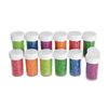 Colorations[r] Neon Glitter Jars - Set of 12