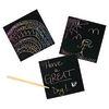 Colorations Scratch Art Kit - 125 Notes and 2 Styluses