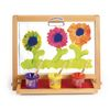 Colorations® Tabletop Easel featuring magnetic dry erase board, chalkboard and clips to hold paper