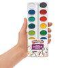 Colorations® Best Value Washable Watercolor Paints Refill, 16 Colors