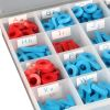 EZread™ Color-Coded Plastic Magnetic Letter Kits