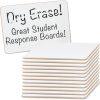 "Mini Non-Magnetic 9"" By 6"" One-Sided Dry Erase Boards - Set Of 12"