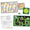 Prefix and Suffix Spin Board Games