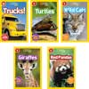 National Geographic Kids Readers Level 1 - Set 2 - 20-Book Set