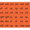 Magnetic Chunks (Consonants, Blends, Digraphs, And Ending Phonograms) - 89 tiles