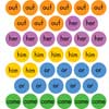 First 50 Sight Word Stickers